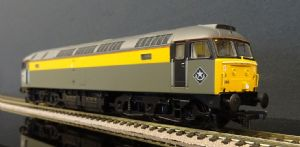 31-661DS Class 47 346 BR Engineers Grey/Yellow (DCC-Sound)
